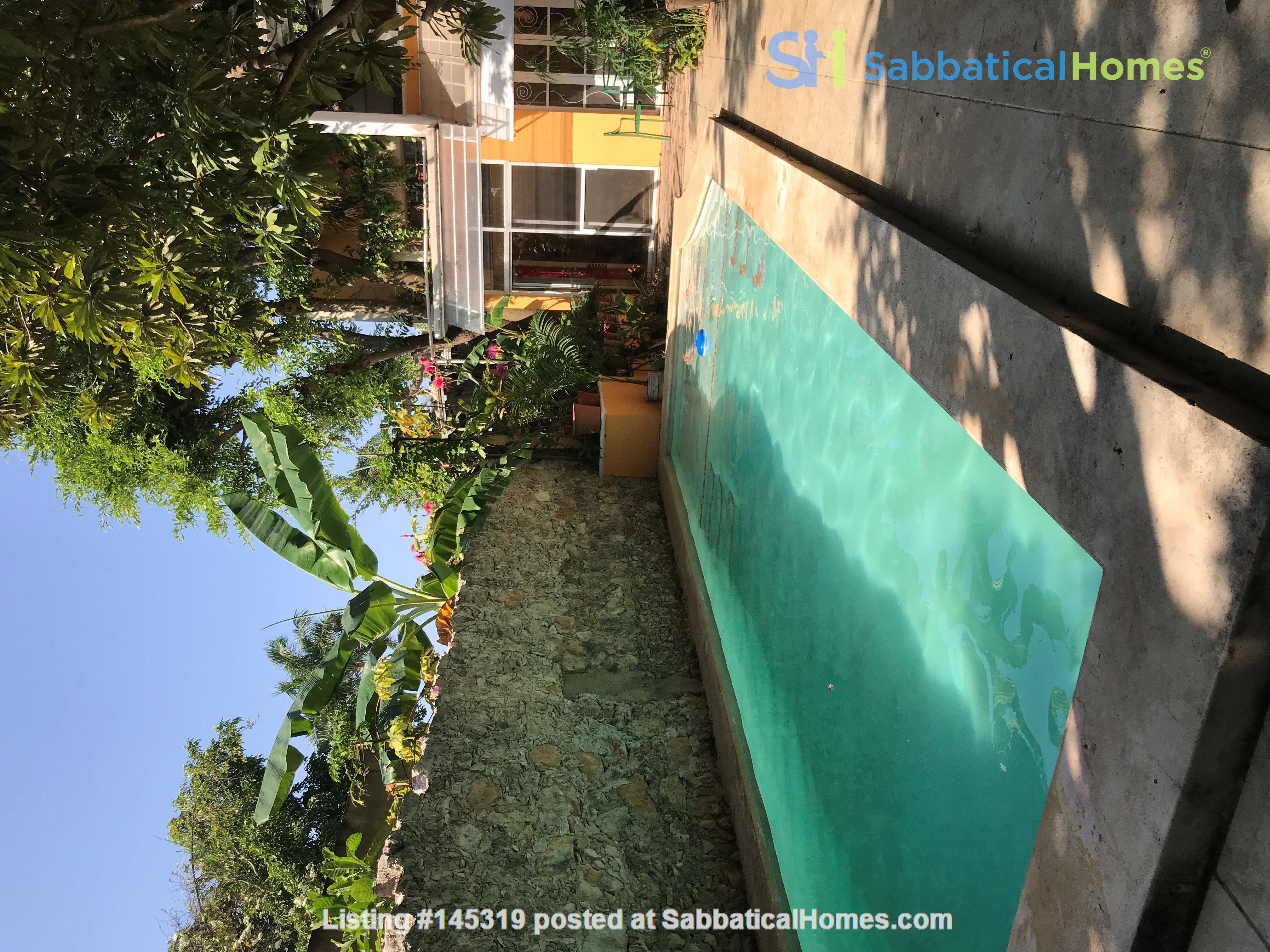 Beautiful Artists' Home and Urban Paradise with Pool in Central Mérida Home Rental in Mérida, Yucatán, Mexico 1