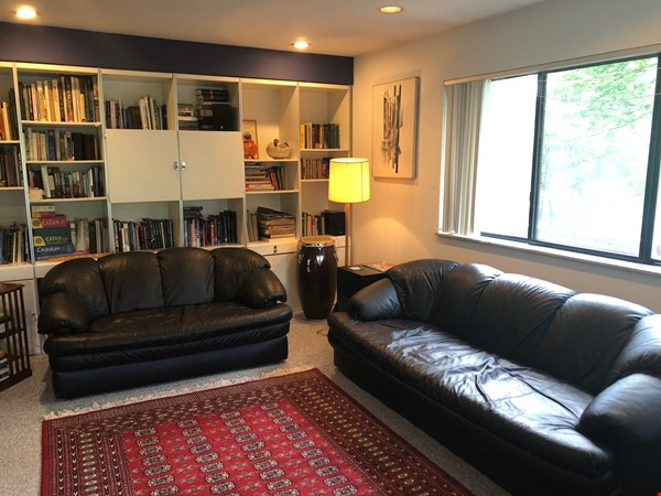 Lovely four bedroom house, wooded setting near UM Central campus & hospital Home Rental in Ann Arbor 6 - thumbnail