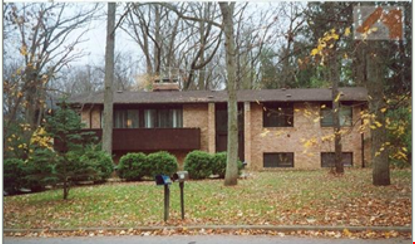 Lovely four bedroom house, wooded setting near UM Central campus & hospital Home Rental in Ann Arbor 0 - thumbnail