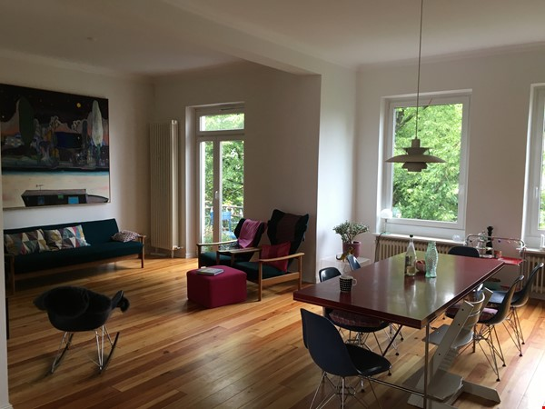 Bright and spacious apt in Hamburg off campus between Schanze and Eppendorf Home Rental in Hamburg 2 - thumbnail