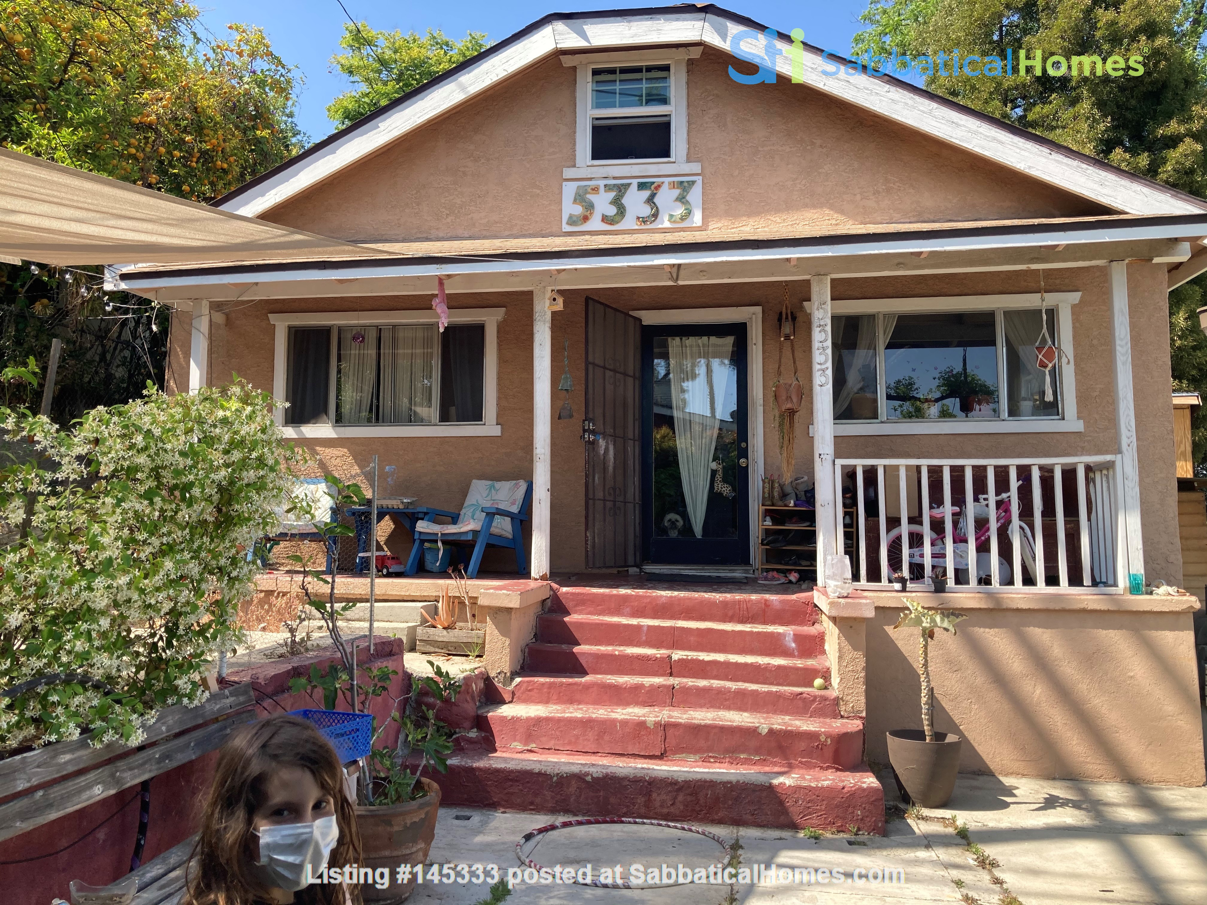 Three Bedroom home with detached office Home Exchange in Los Angeles, California, United States 0