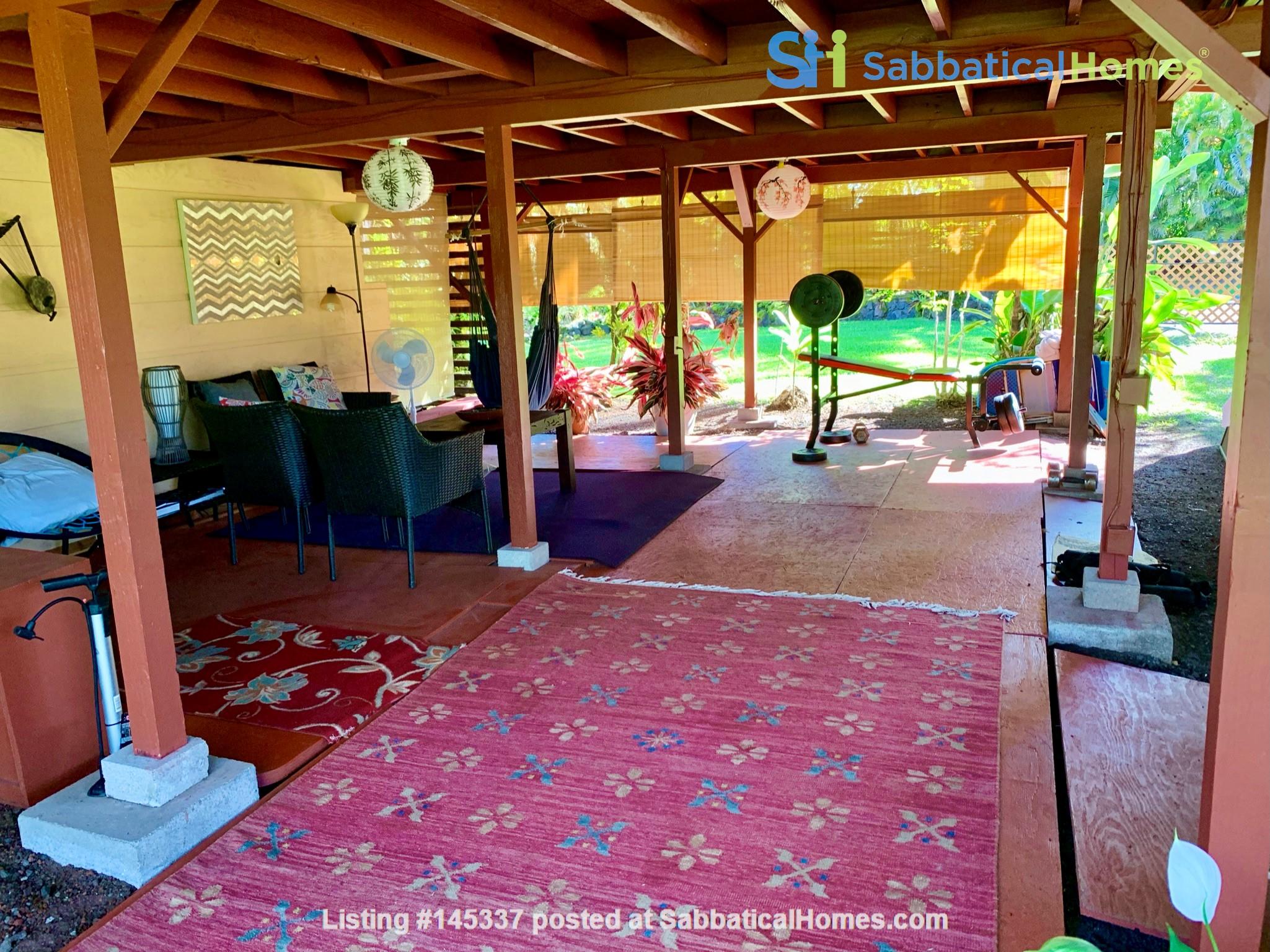 Coastal Kaloli Point Artist Residence Eco-Farm Home Rental in Keaau, Hawaii, United States 9