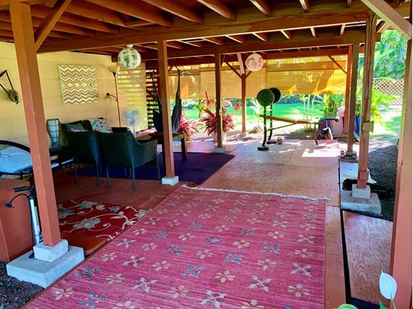 Coastal Kaloli Point Artist Residence Eco-Farm Home Rental in Keaau 9 - thumbnail