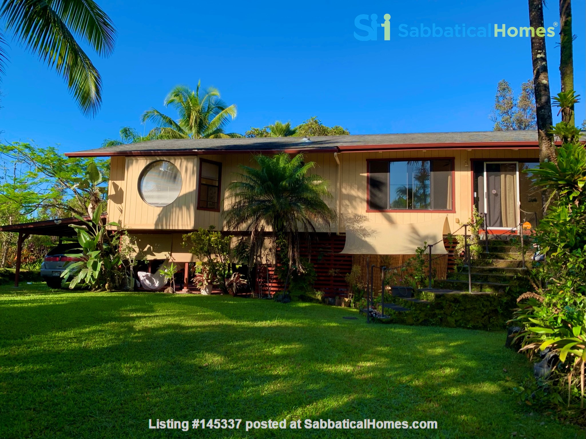 Coastal Kaloli Point Artist Residence Eco-Farm Home Rental in Keaau, Hawaii, United States 4