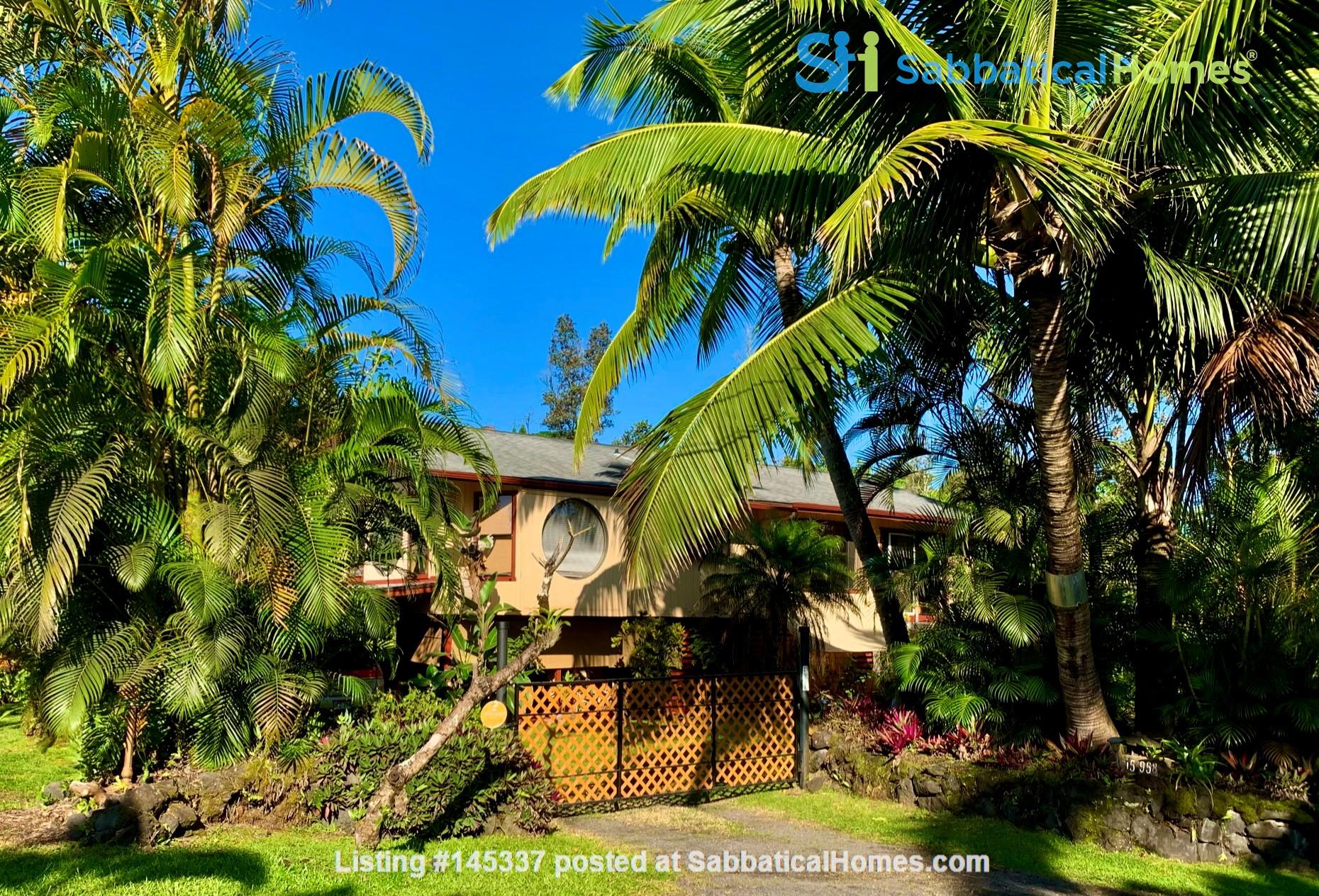 Coastal Kaloli Point Artist Residence Eco-Farm Home Rental in Keaau, Hawaii, United States 1