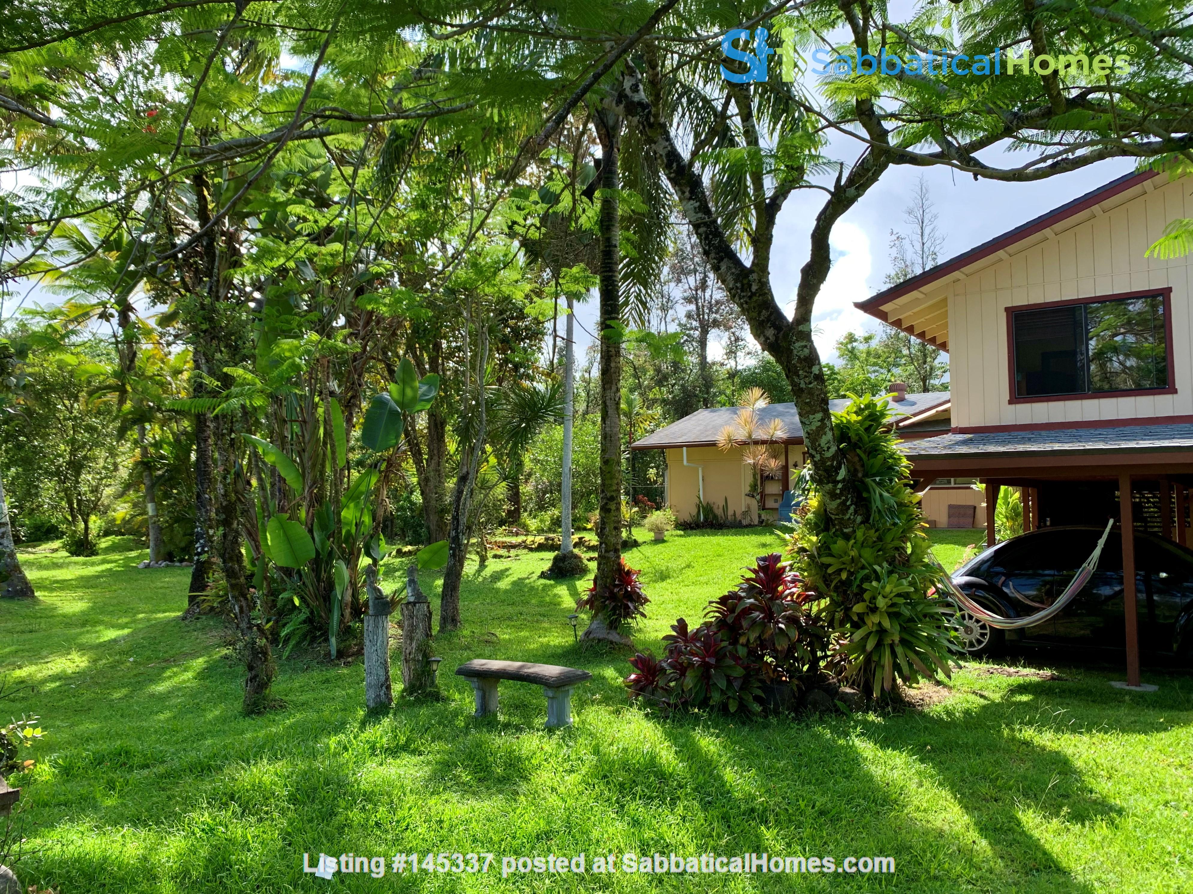 Coastal Kaloli Point Artist Residence Eco-Farm Home Rental in Keaau, Hawaii, United States 2