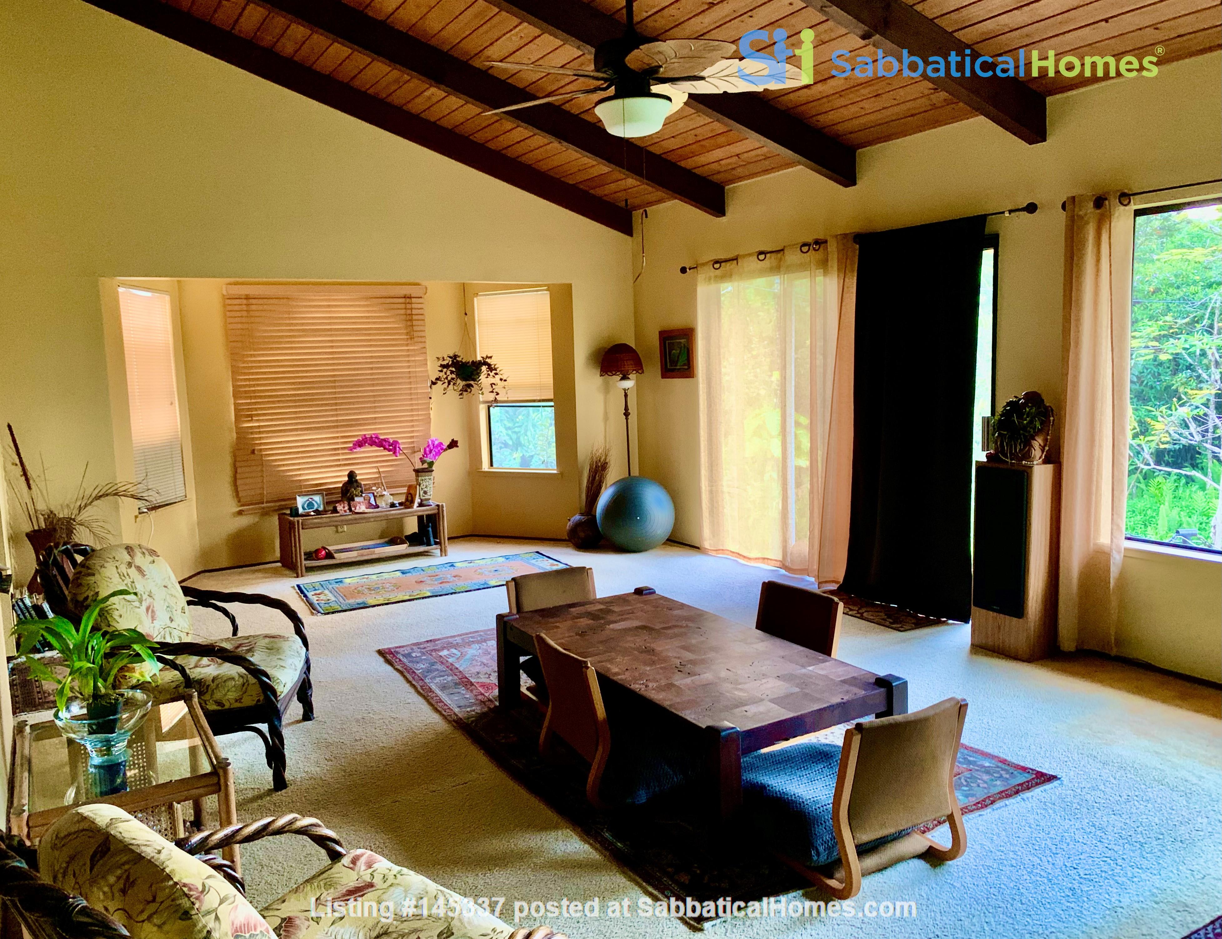 Coastal Kaloli Point Artist Residence Eco-Farm Home Rental in Keaau, Hawaii, United States 7
