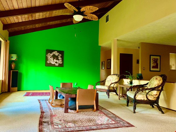 Coastal Kaloli Point Artist Residence Eco-Farm Home Rental in Keaau 5 - thumbnail