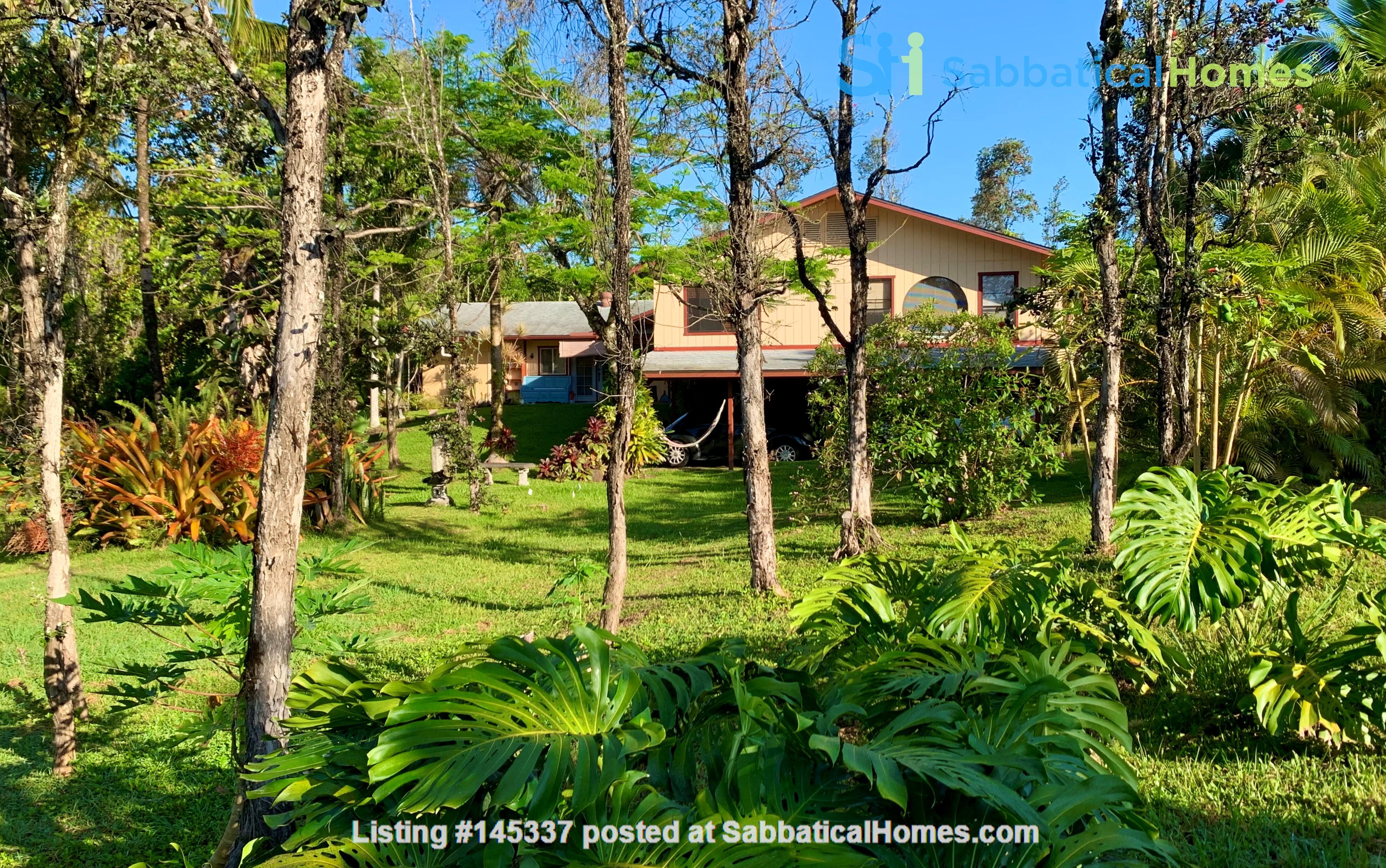 Coastal Kaloli Point Artist Residence Eco-Farm Home Rental in Keaau, Hawaii, United States 0