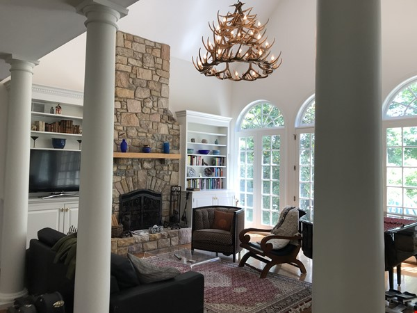 A large, comfortable, tasteful house; outstanding space for work and play. Home Rental in Pennington 4 - thumbnail