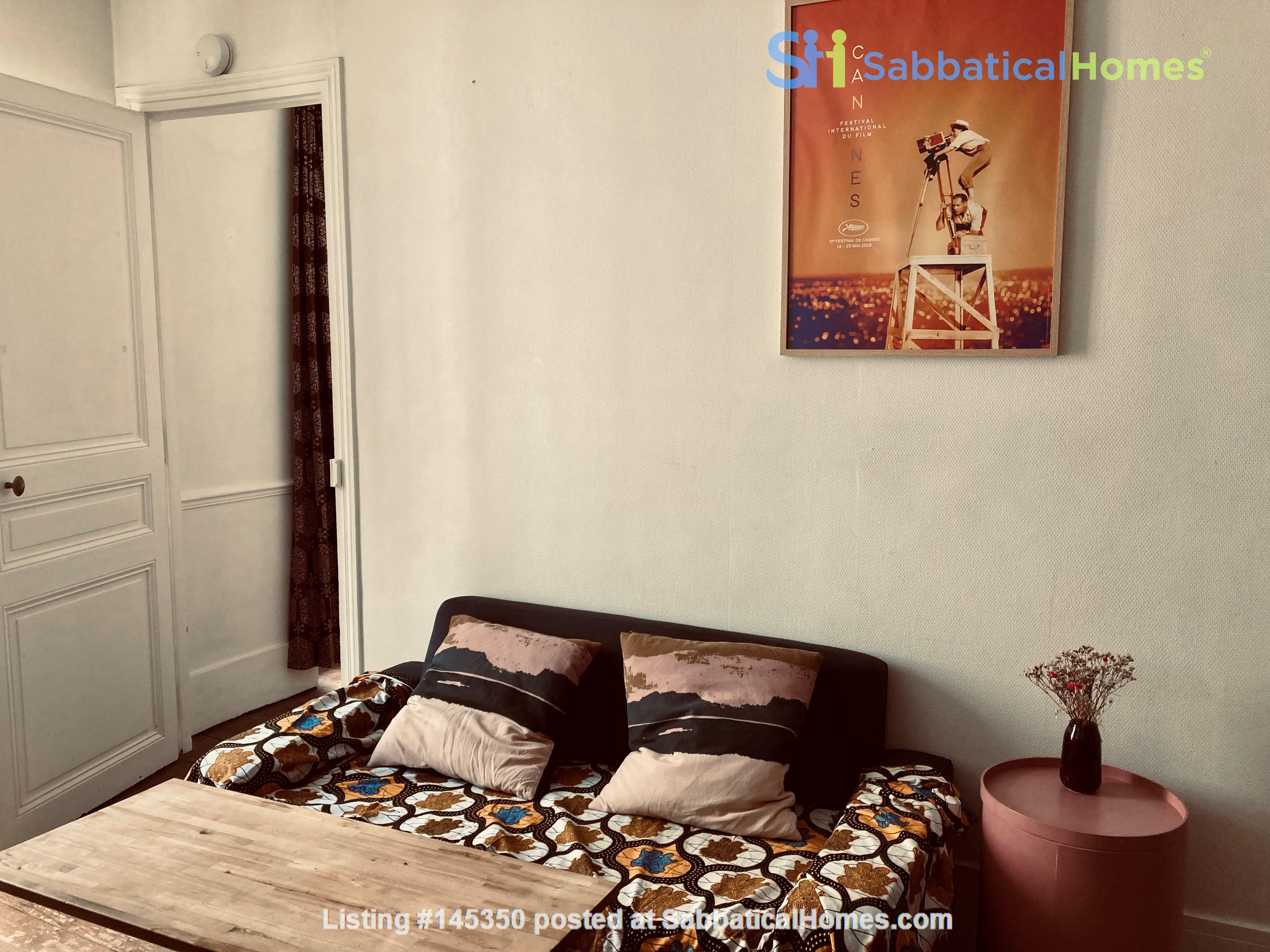 Charming one-bedroom apartment near Montmartre Home Rental in Paris, Île-de-France, France 1