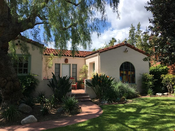 Classic 1920 Spanish Home with View of the San Gabriel Mountains Home Rental in Altadena 0 - thumbnail