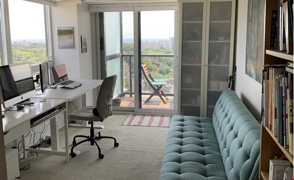 Quiet Condo with great views. Toronto's coolest neighbourhood: The Junction Home Rental in Toronto 5 - thumbnail