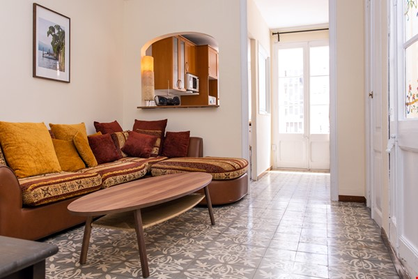 Modernist apartment for professionals or small families by Sagrada Familia Home Rental in Barcelona 0 - thumbnail