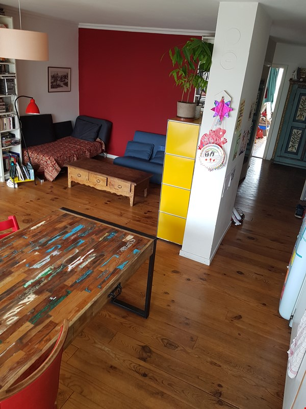 Sunny 2 BR 62 m2 apt with wonderful views Home Rental in Paris 1 - thumbnail