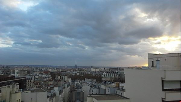 Sunny 2 BR 62 m2 apt with wonderful views Home Rental in Paris 0 - thumbnail