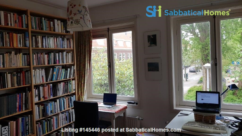 Beautiful, spacious house in quiet, green neighborhood close to citycenter Home Rental in Amsterdam, Noord-Holland, Netherlands 2