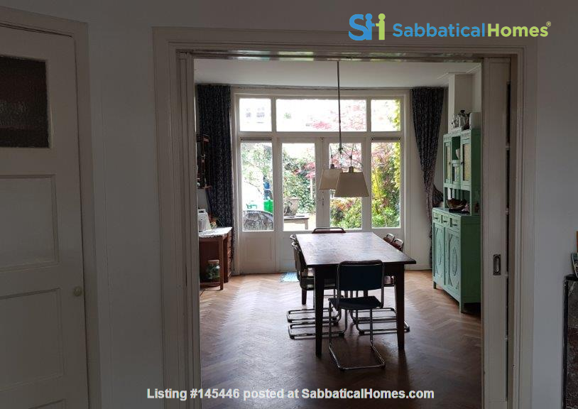 Beautiful, spacious house in quiet, green neighborhood close to citycenter Home Rental in Amsterdam, Noord-Holland, Netherlands 0