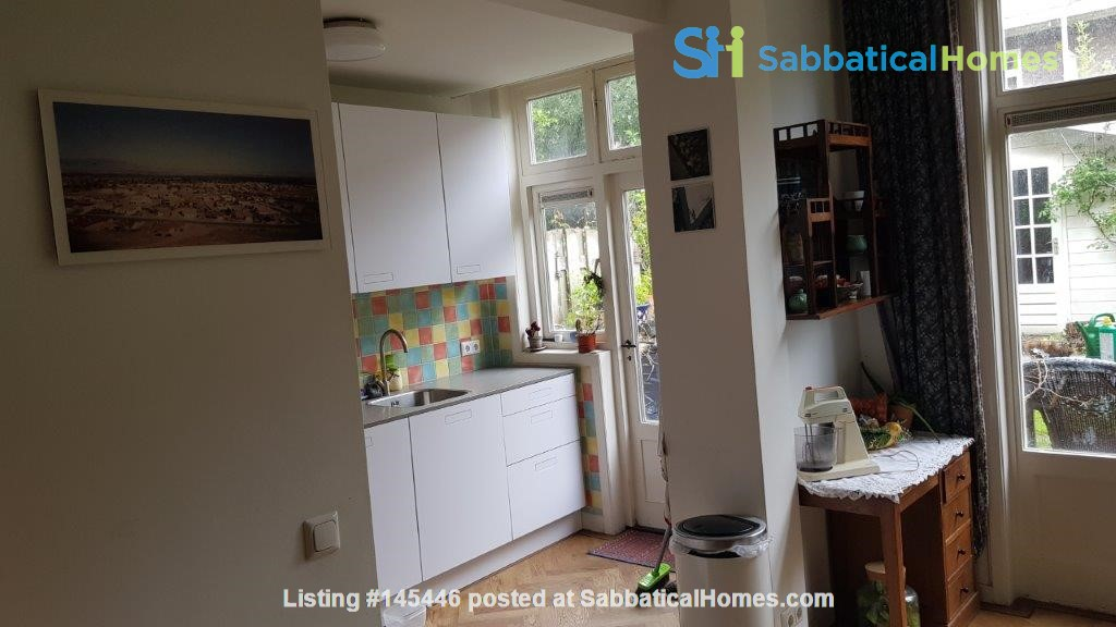 Beautiful, spacious house in quiet, green neighborhood close to citycenter Home Rental in Amsterdam, Noord-Holland, Netherlands 4