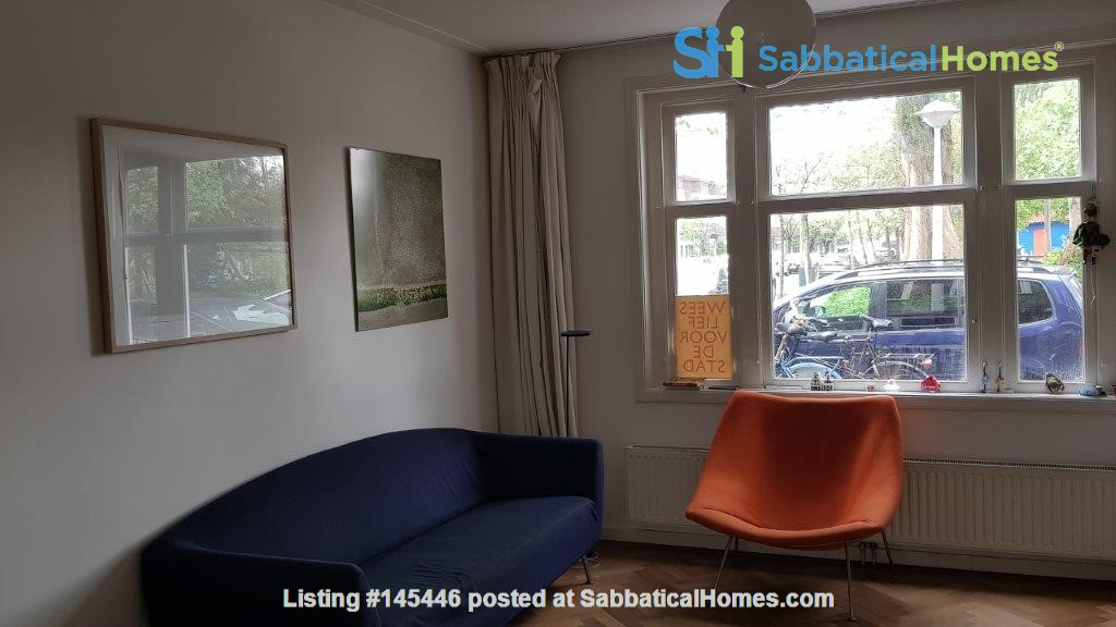Beautiful, spacious house in quiet, green neighborhood close to citycenter Home Rental in Amsterdam, Noord-Holland, Netherlands 5