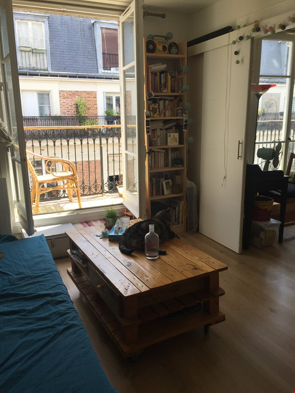 Sunny 1BR apartment in the Ménilmontant / Oberkampf area Home Rental in Paris 1 - thumbnail