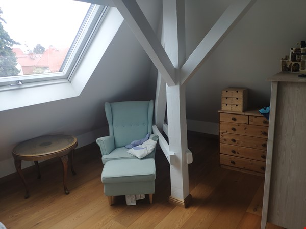 Furnished sublet: Spacious house w/ garden in the south-west of Berlin Home Rental in Berlin 7 - thumbnail