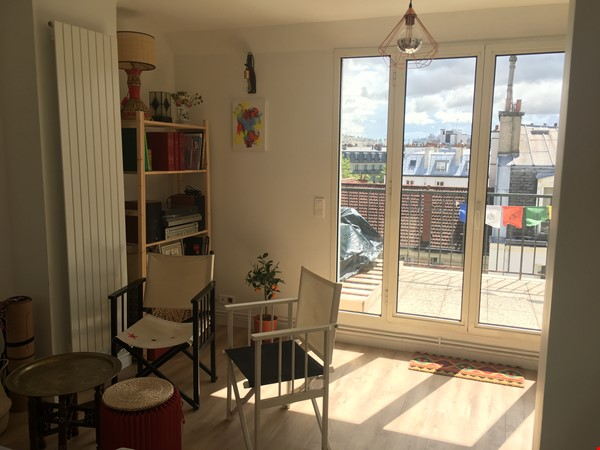 Amazing flat with TERRACE and BALCONY in Paris, Montmartre Home Exchange in Paris 2 - thumbnail