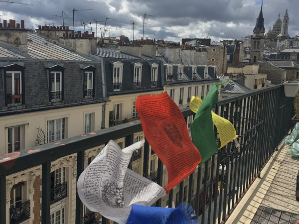 Amazing flat with TERRACE and BALCONY in Paris, Montmartre Home Exchange in Paris 1 - thumbnail