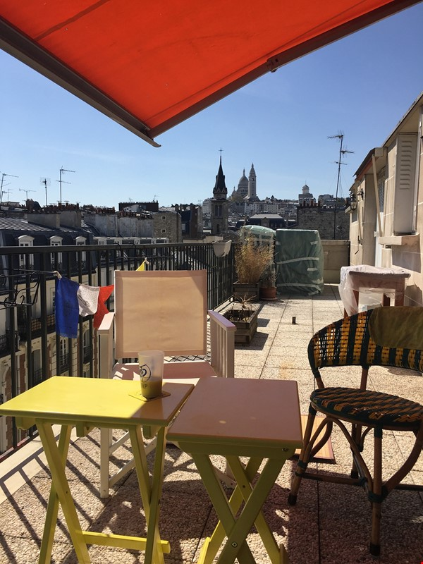 Amazing flat with TERRACE and BALCONY in Paris, Montmartre Home Exchange in Paris 0 - thumbnail
