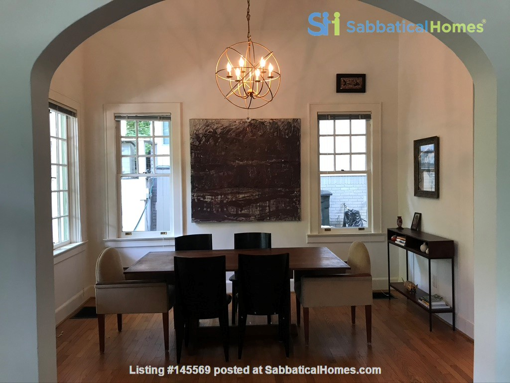 Beautiful corner hilltop setting only two blocks away from Piedmont Park Home Rental in Atlanta 2