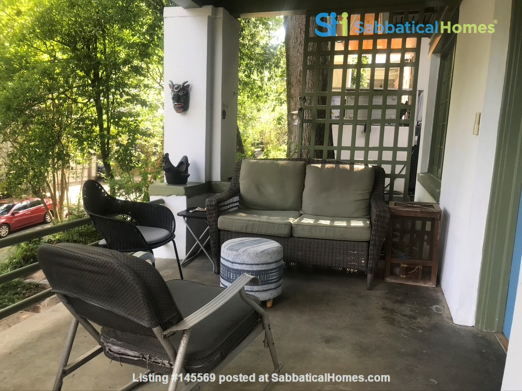 Beautiful corner hilltop setting only two blocks away from Piedmont Park Home Rental in Atlanta 0
