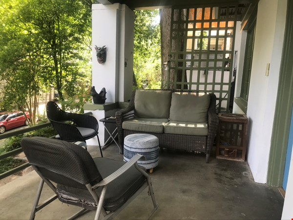 Beautiful corner hilltop setting only two blocks away from Piedmont Park Home Rental in Atlanta 0 - thumbnail