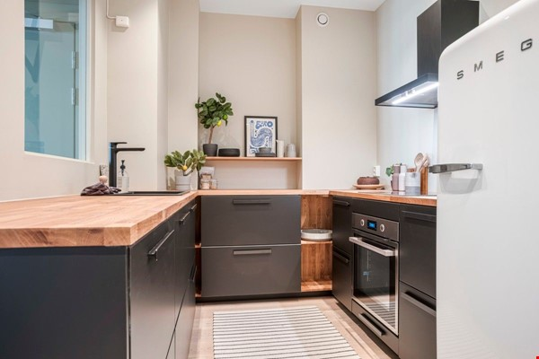 Family apartment with lovely garden/backyard and playground close to uni Home Rental in  4 - thumbnail