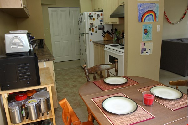 Vancouver seawall apartment with downtown and harbor views, furnished 2BR Home Rental in Vancouver 4 - thumbnail