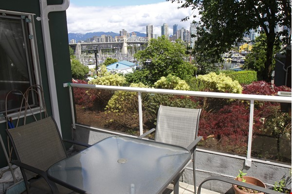 Vancouver seawall apartment with downtown and harbor views, furnished 2BR Home Rental in Vancouver 0 - thumbnail