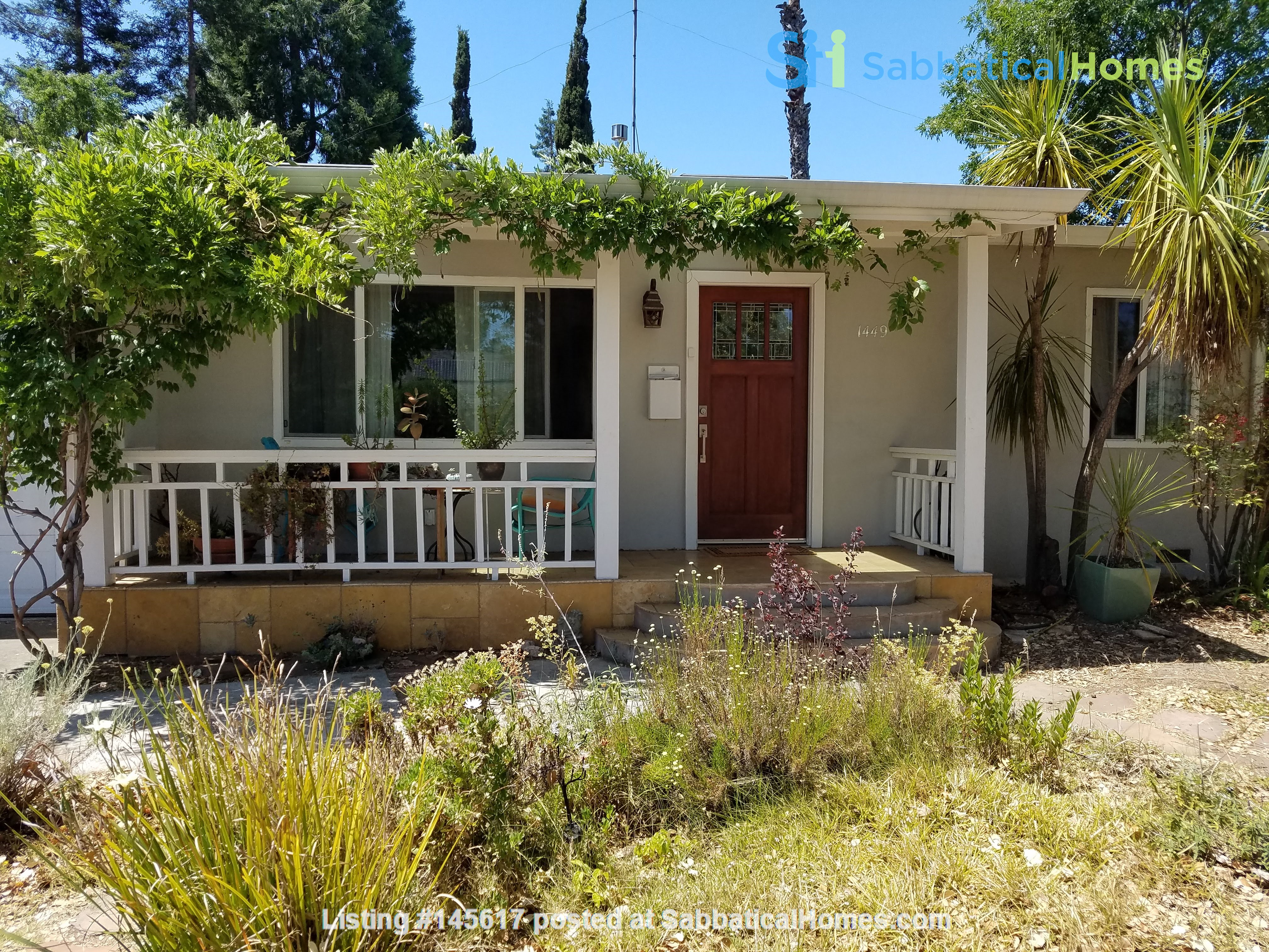 Charming, Quiet Bungalow near Stanford for AY 2021-2022 Home Rental in Mountain View, California, United States 0