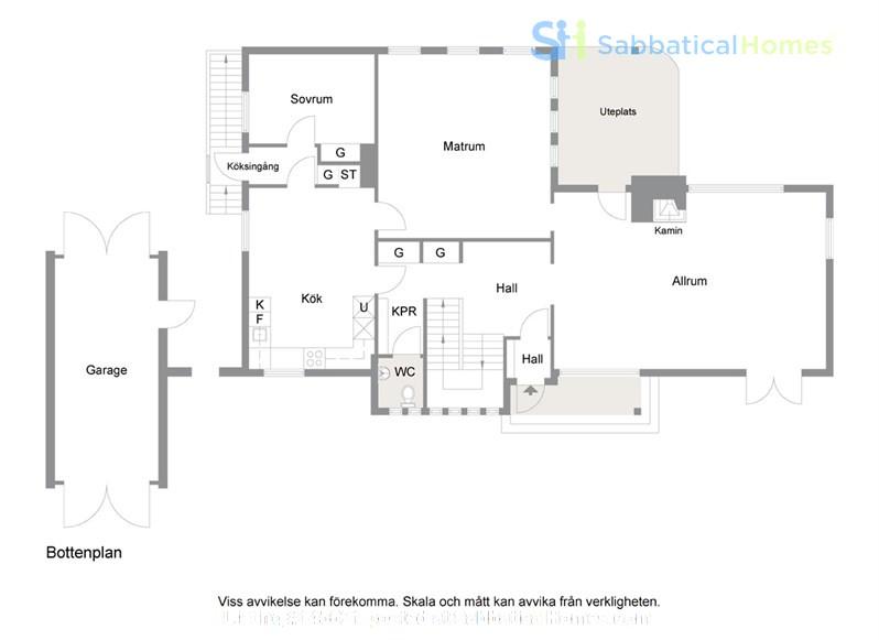 Beautiful house for rent in central Malmö (Sweden) Home Rental in , Skåne län, Sweden 6
