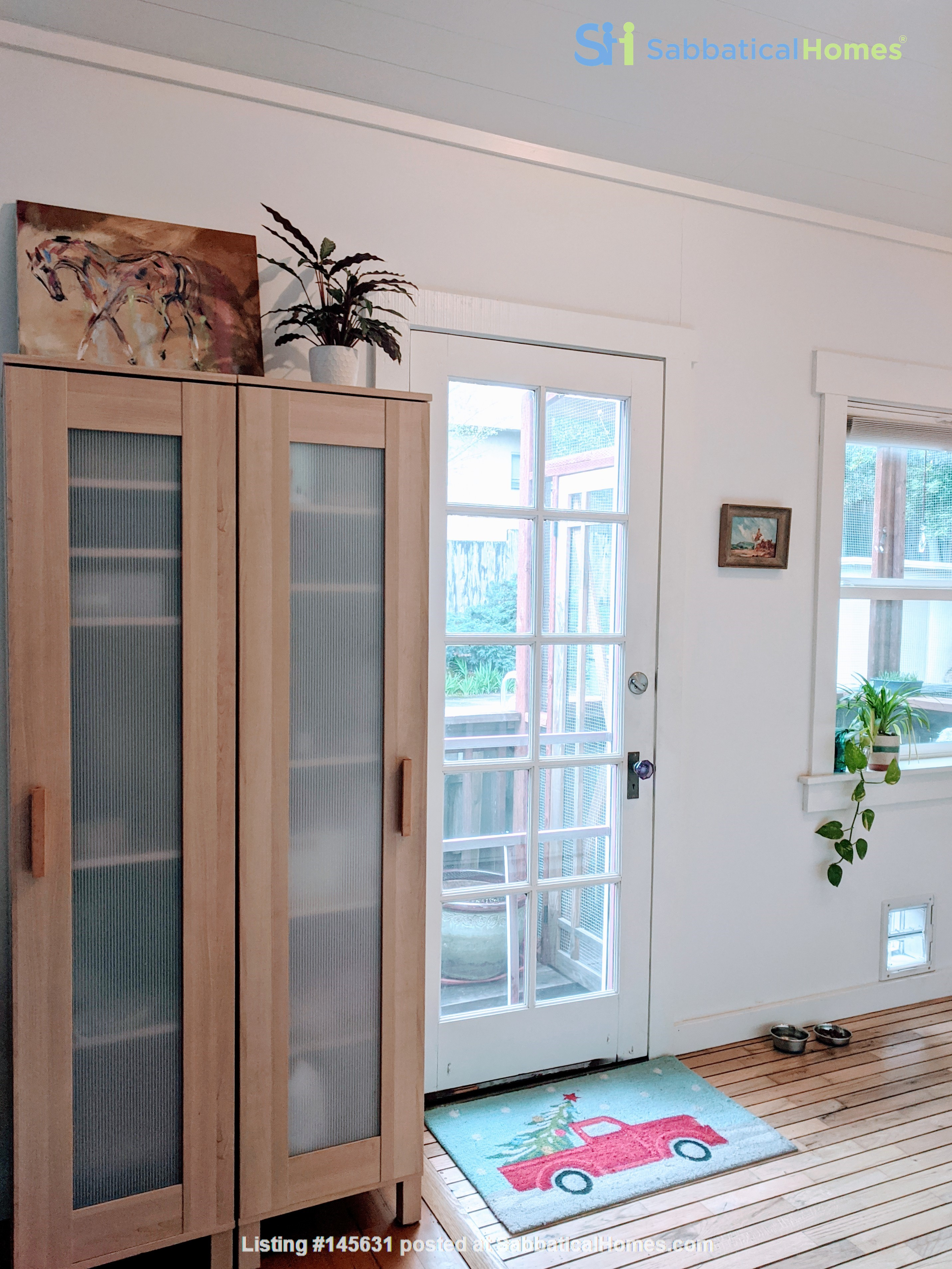 CHARMING PRIVATE COTTAGE 1 BR/1 BA + Office/studio space (720sft) Home Rental in San Rafael, California, United States 4