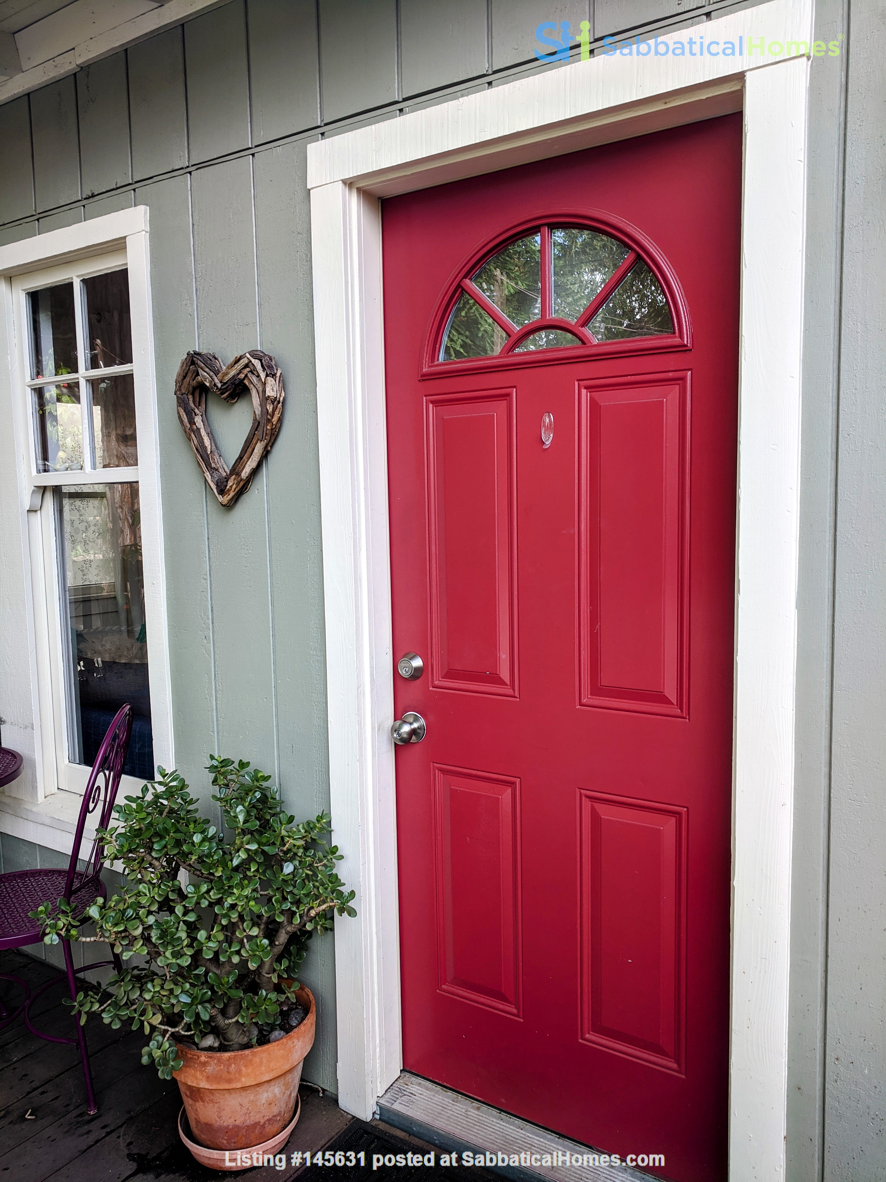 CHARMING PRIVATE COTTAGE 1 BR/1 BA + Office/studio space (720sft) Home Rental in San Rafael, California, United States 0