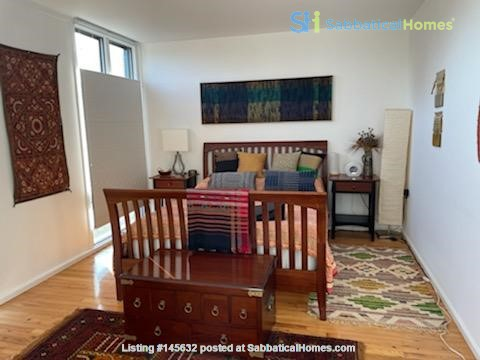 A beautiful, well-lit, furnished modern condo in historic Wooster Square Home Rental in New Haven, Connecticut, United States 1