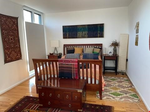 A beautiful, well-lit, furnished modern condo in historic Wooster Square Home Rental in New Haven 1 - thumbnail