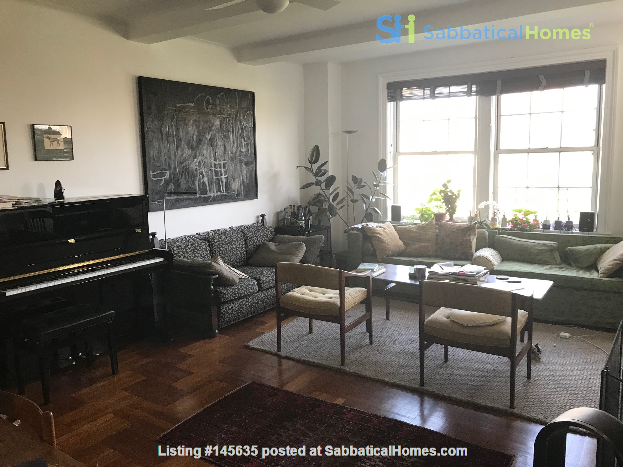 Summer Sublet High Over Washington Square Home Rental in New York, New York, United States 1