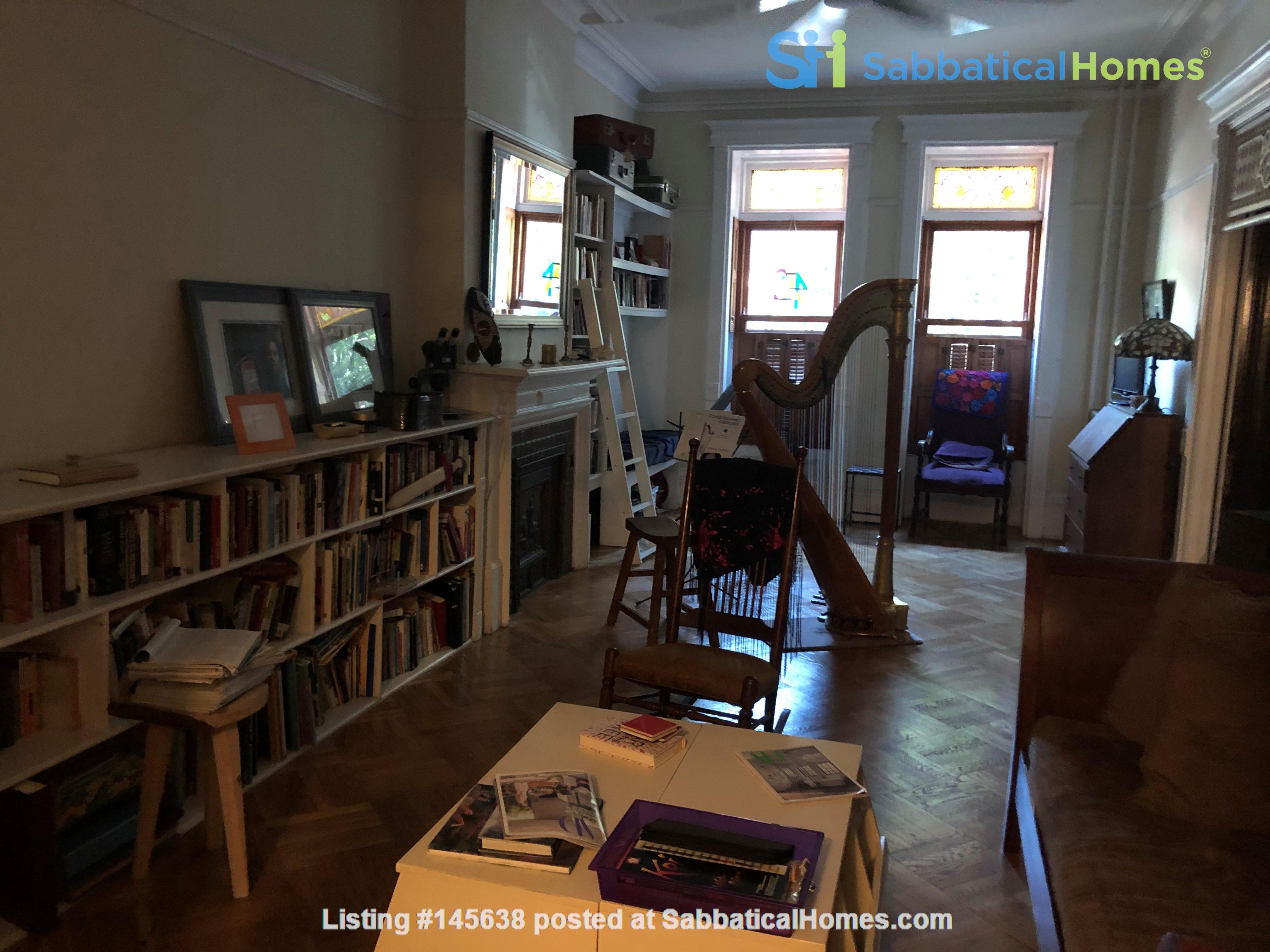 Poet's Brooklyn Brownstone Home Rental in Kings County, New York, United States 0