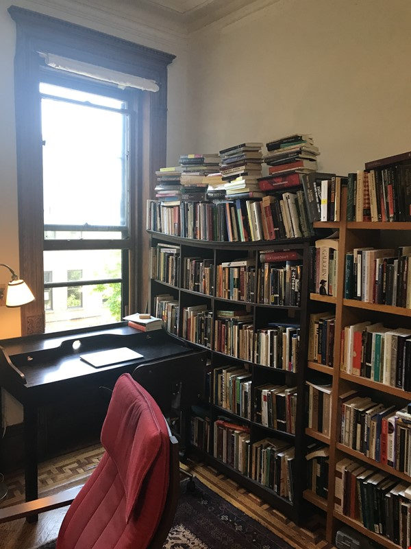 Beautiful studio in a bright, quiet Central Harlem brownstone Home Rental in New York 1 - thumbnail