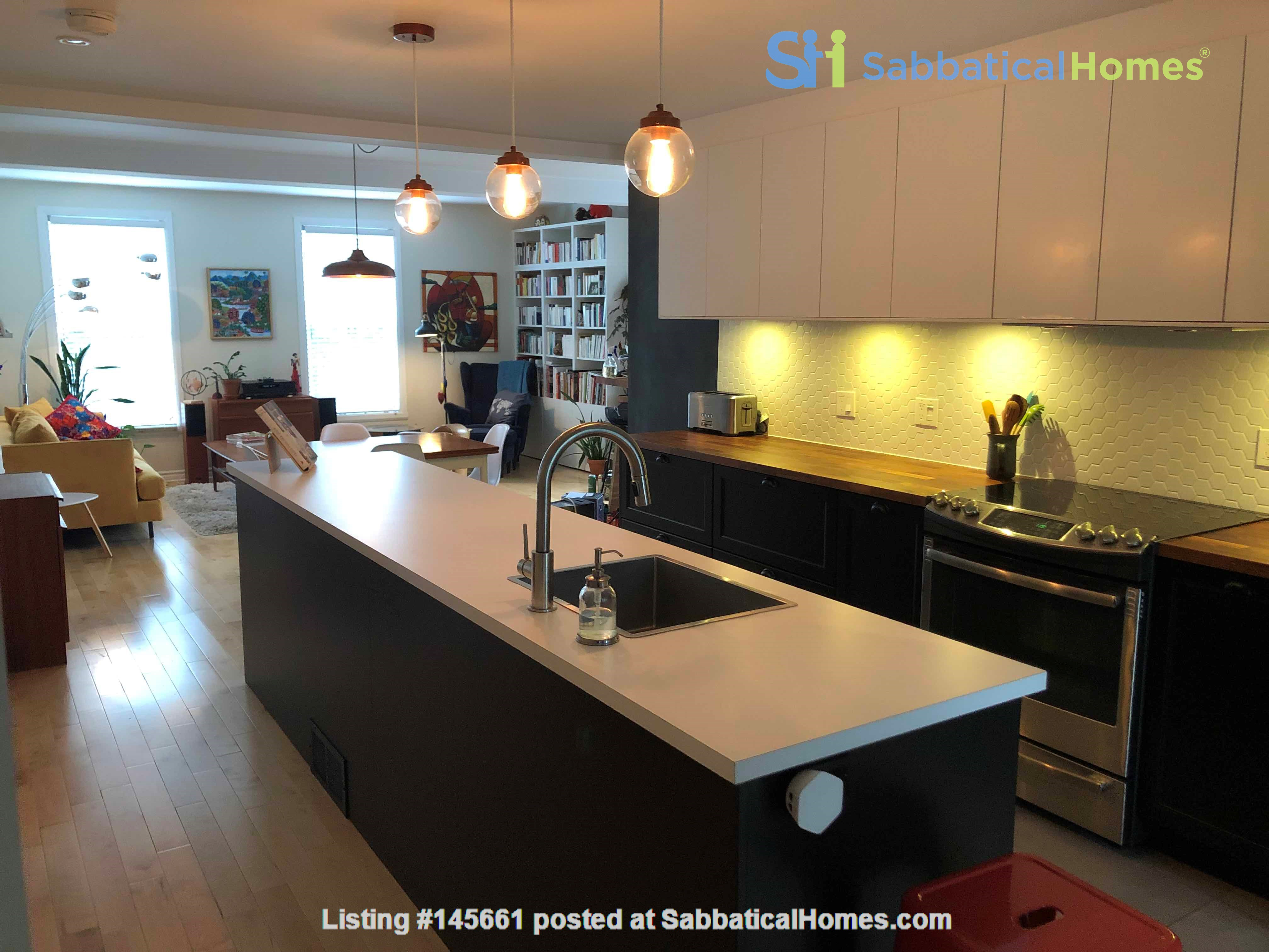 Beautiful fully furnished 2 BR in Vieux-Rosemont Home Rental in Montréal, Québec, Canada 0