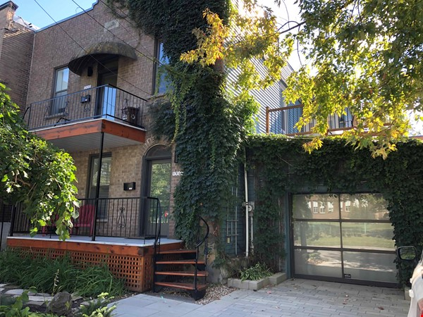 Beautiful fully furnished 2 BR in Vieux-Rosemont Home Rental in Montréal 7 - thumbnail