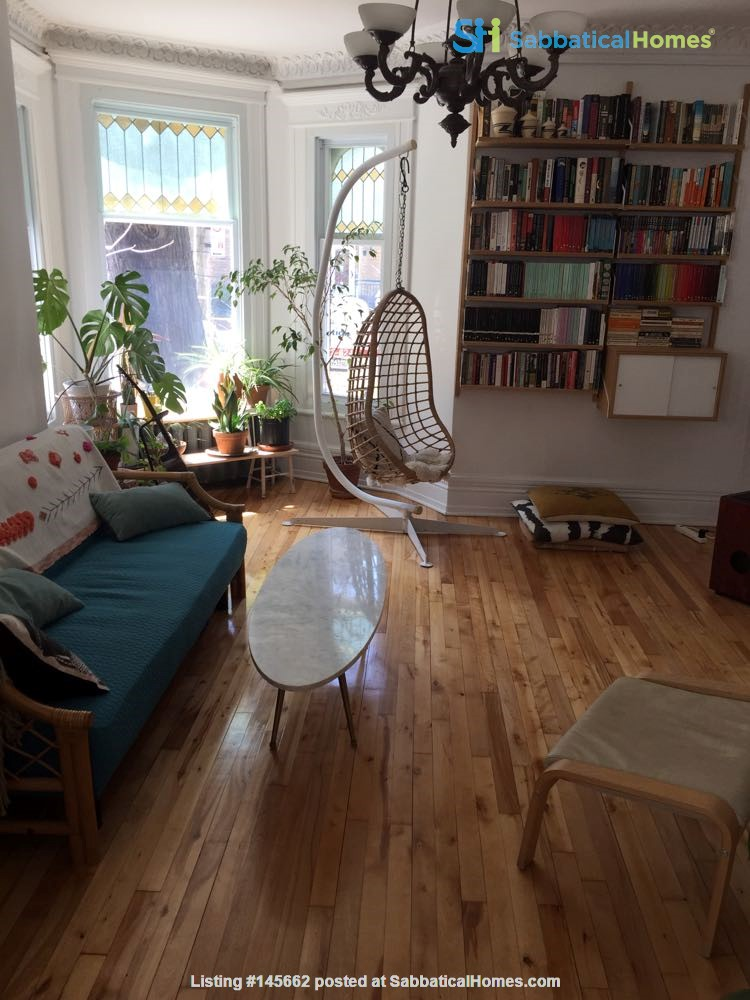 2 bedrooms in beautiful family home centrally located in Plateau Montreal Home Rental in Montreal, Quebec, Canada 2