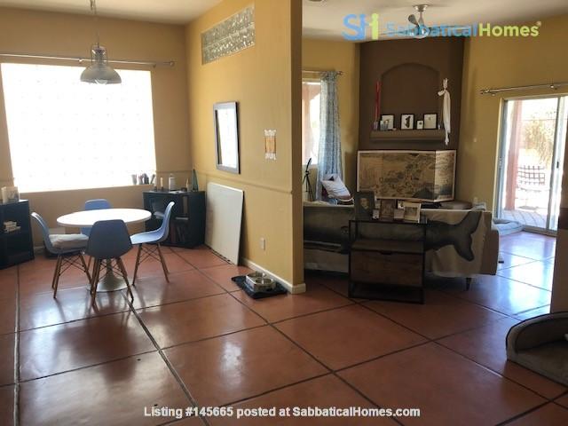 Roomy 2 bedroom 2 bath with beautiful garden. Home Rental in Tucson, Arizona, United States 0