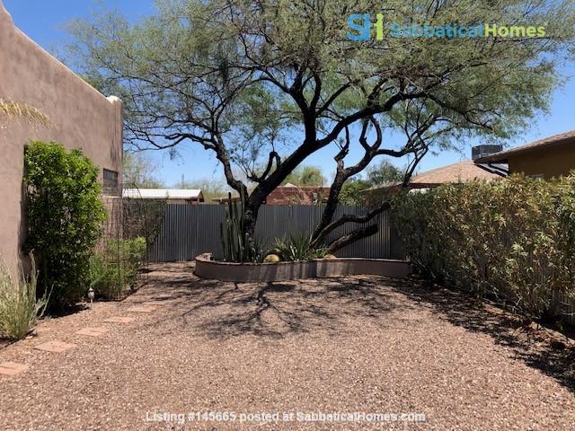 Roomy 2 bedroom 2 bath with beautiful garden. Home Rental in Tucson, Arizona, United States 1