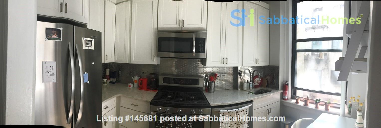 One bedroom sabbatical rental on UWS near Columbia Univ (09/21-06/22) Home Rental in New York, New York, United States 3